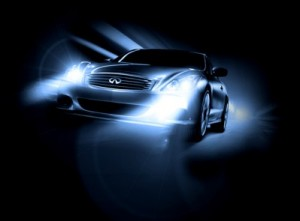 Car-with-HID-Headlamps