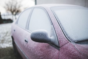 car winter frost